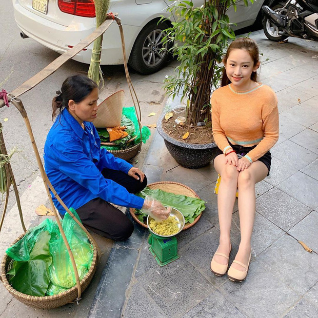 """Sáng xem story Thuý Vi mà cười xỉu: Vừa ra Hà Nội làm lại răng cửa bị gãy, đã kịp """"hú hí"""" đi ăn combo mùa thu rồi - Ảnh 3."""