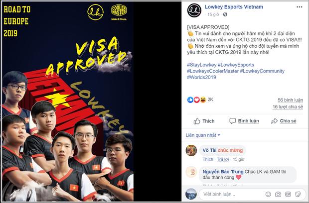 GAM và LK đã có visa, sẵn sàng làm nên chuyện tại CKTG 2019 - Ảnh 3.