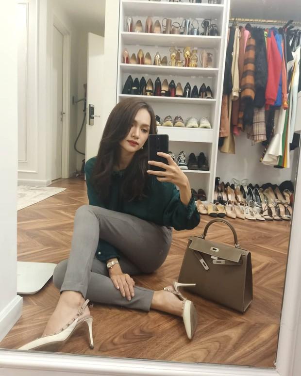Từ ngày sắm 3 chiếc túi Hermès, Hương Giang cũng chuyển sang style thanh lịch chanh sả đậm chất ái nữ tài phiệt - Ảnh 5.