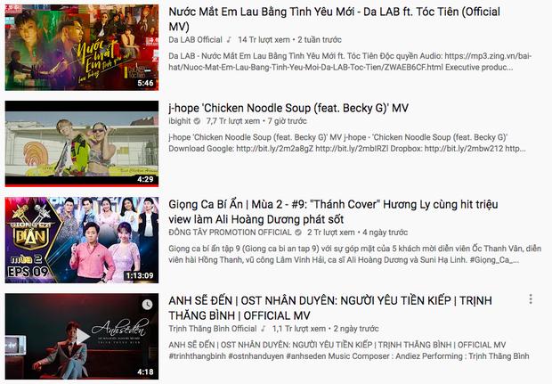 Bị chỉ trích thiếu chuyên nghiệp, nhưng ngay lúc này Hương Ly đang cùng lúc nắm giữ tận 3 vị trí cao trên Top Trending - Ảnh 4.