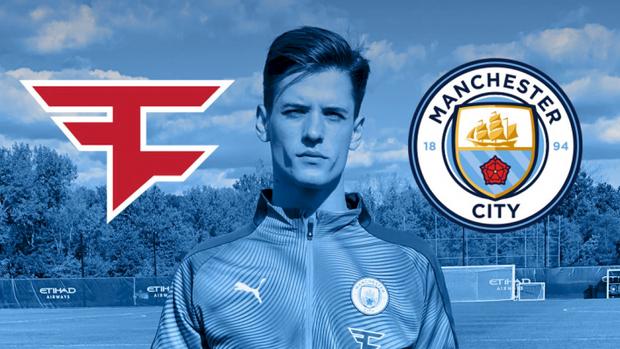 Manchester City công bố hợp tác cùng tổ chức Esports đình đám thế giới, Faze Clan - Ảnh 1.