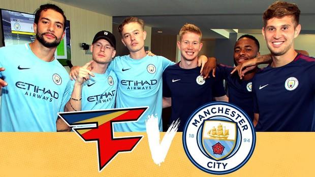 Manchester City công bố hợp tác cùng tổ chức Esports đình đám thế giới, Faze Clan - Ảnh 2.