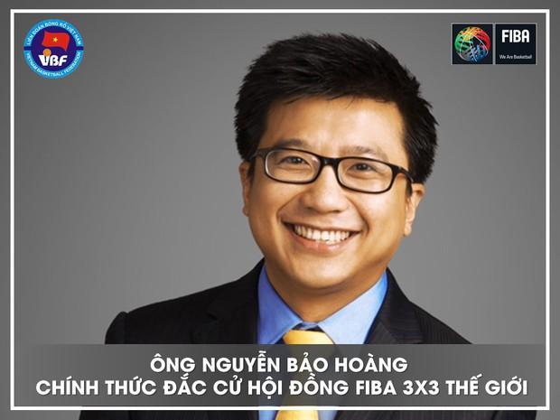 Chủ tịch Liên đoàn bóng rổ Việt Nam trúng cử Hội đồng FIBA 3x3 Thế giới - Ảnh 1.