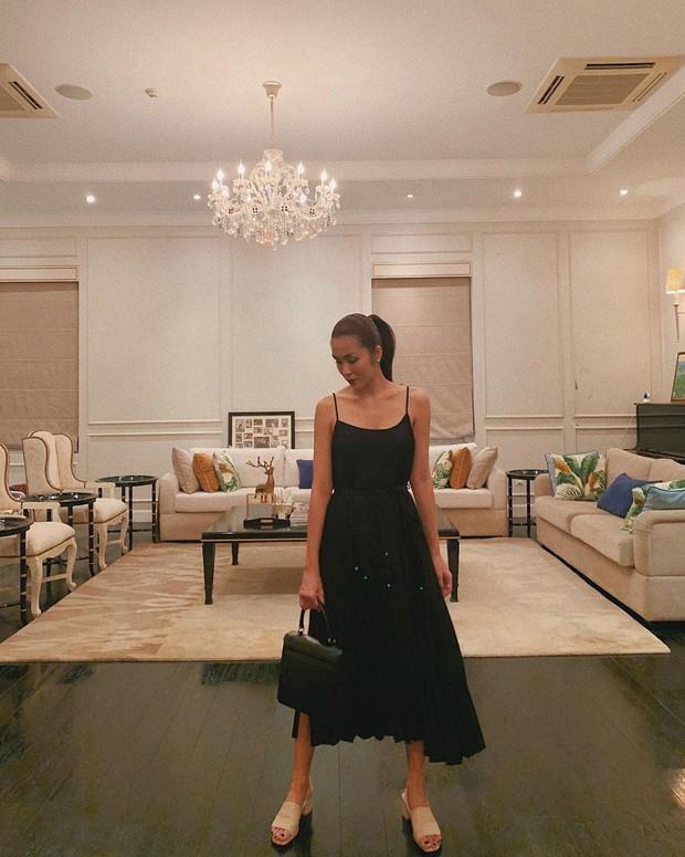 Nhờ một mẫu váy: Hà Tăng, Phạm Quỳnh Anh và Đàm Thu Trang khiến người ta nín lặng trước vẻ sexy và sang chảnh tột bậc - Ảnh 2.