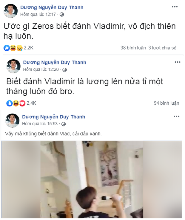 HLV Tinikun mạnh miệng tuyên bố: Zeros biết đánh Vladimir là lương 1 tháng tăng lên nửa tỷ - Ảnh 2.