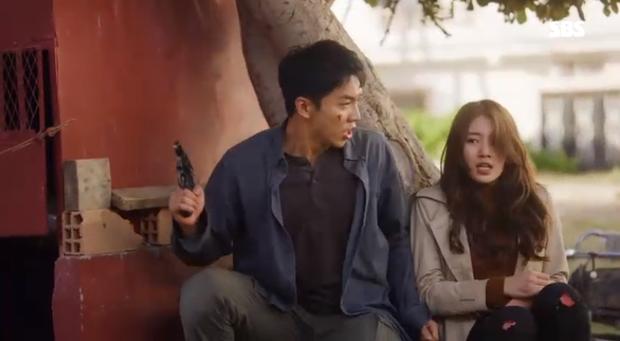 Vagabond tập 3: Vừa xem vừa thở oxi nhìn Lee Seung Gi và Suzy bị kẻ giấu mặt truy sát! - Ảnh 12.