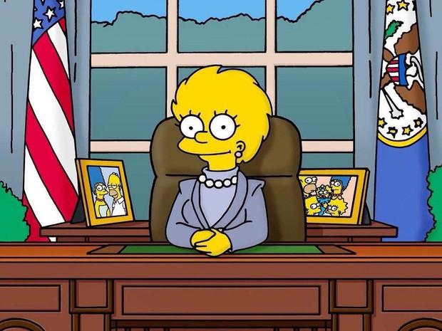 Giật mình nhận ra cái lườm của Greta Thunberg dành cho TT Donald Trump từng được xi nhan ở The Simpsons? - Ảnh 4.