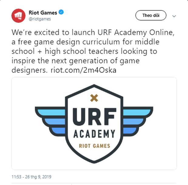 Riot Games cung cấp chương trình dạy thiết kế trò chơi miễn phí: Cơ hội cho những kẻ đã mê game mà lại còn học giỏi đây rồi! - Ảnh 3.