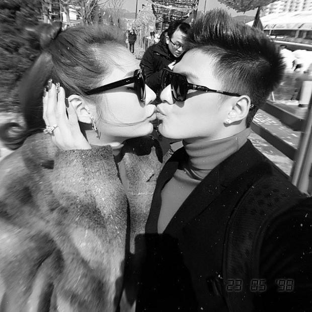 Phát sốt cách thể hiện tình cảm của sao Việt: Vô tư ôm hôn nơi công cộng, cứ gặp là không rời, chăm kỹ đến phát hờn - Ảnh 11.