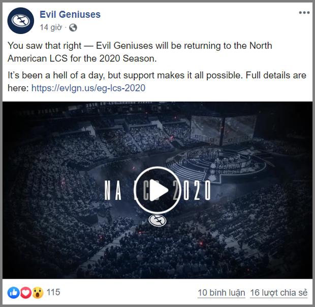Tổ chức Esports hàng đầu thế giới Evil Geniuses chi gần 300 tỷ mua hai đội tuyển chỉ trong một ngày - Ảnh 3.