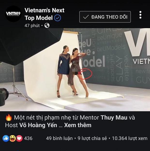 Vô tình đăng clip Mâu Thủy lộ nội y, Vietnams Next Top Model lập tức phi tang chứng cứ - Ảnh 5.