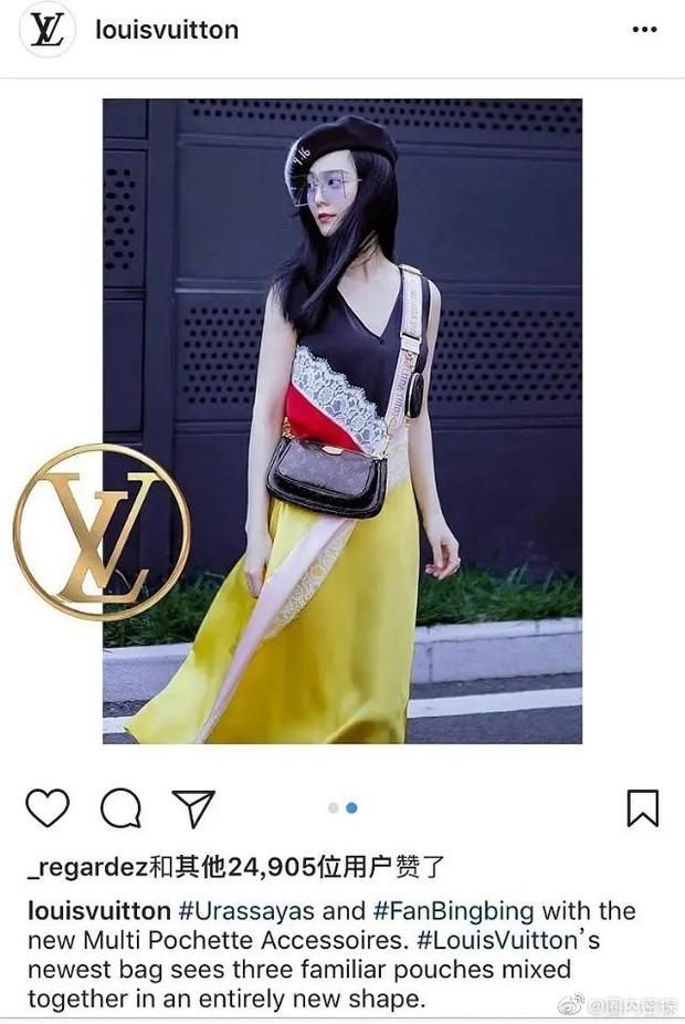 """Nhận Phạm Băng Băng là người đại diện, Louis Vuitton Trung Quốc bị """"ném đá"""" tơi tả, Ngô Diệc Phàm bỗng bị réo tên - Ảnh 3."""