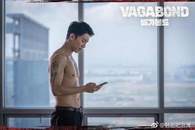 Vagabond tập 4: Suzy mượn rượu tỏ tình rồi đè nam phụ Shin Sung Rok ra cưỡng hôn? - Ảnh 8.
