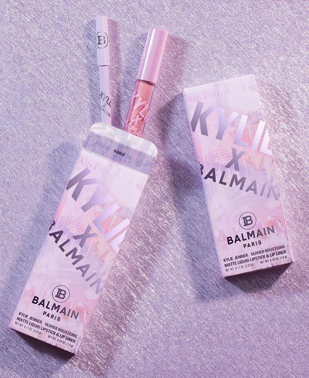 Kylie Jenner bắt tay nhà mốt Balmain cho ra lò BST mỹ phẩm hàng hiệu xịn sò đẹp như mơ - Ảnh 6.