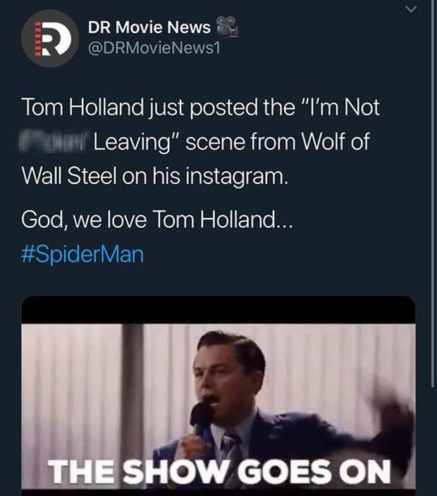 """""""Ghệ"""" Tom Holland lên MXH đăng clip Spider-Man ngúng nguẩy vòng 3 ăn mừng nhện nhọ hết """"homeless"""" - Ảnh 7."""