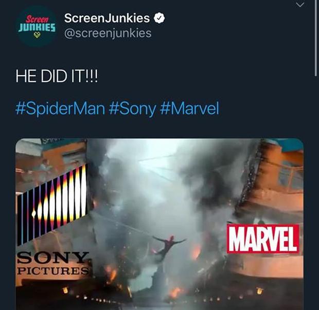 """""""Ghệ"""" Tom Holland lên MXH đăng clip Spider-Man ngúng nguẩy vòng 3 ăn mừng nhện nhọ hết """"homeless"""" - Ảnh 8."""