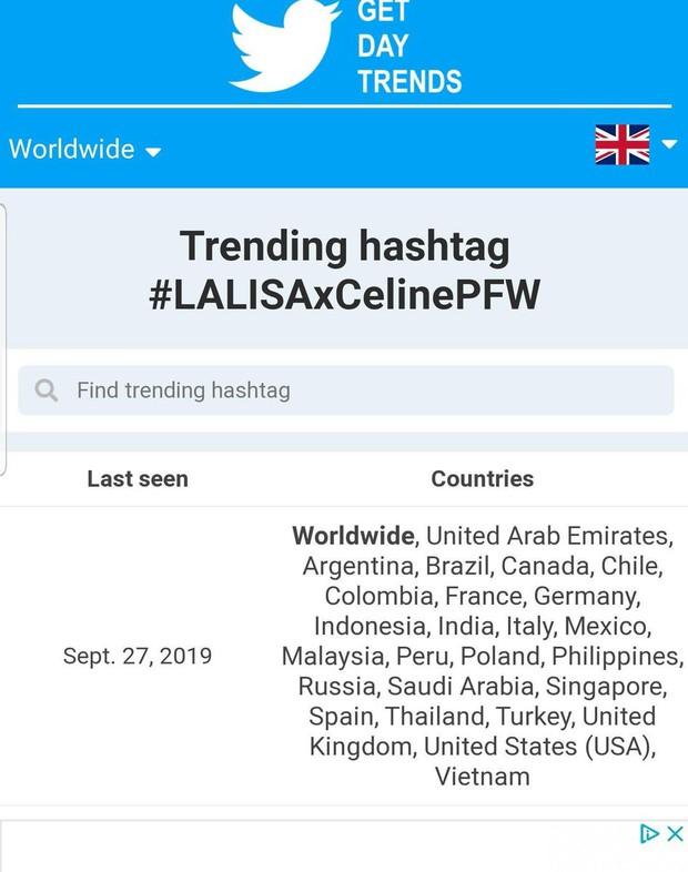 Lisa lại quá xuất sắc tại show Celine khiến netizen trên khắp 25 quốc gia phải điên đảo - Ảnh 3.