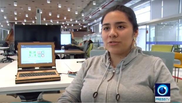 Nữ sinh chế tạo laptop gỗ, học sinh nghèo cũng có thể sử dụng - Ảnh 2.