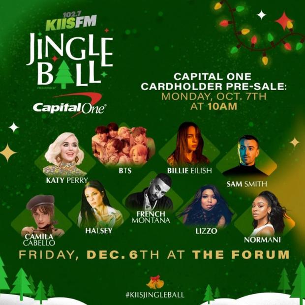 BTS và Monsta X sẽ góp mặt trong chuỗi concert Giáng sinh đình đám của Mỹ, cùng sân khấu với Taylor Swift và Katy Perry - Ảnh 1.