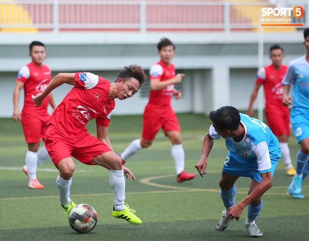 Minh Vương, Ngọc Quang đốn tim fan nữ Sài thành bằng những pha bóng đẳng cấp sân phủi - Ảnh 9.