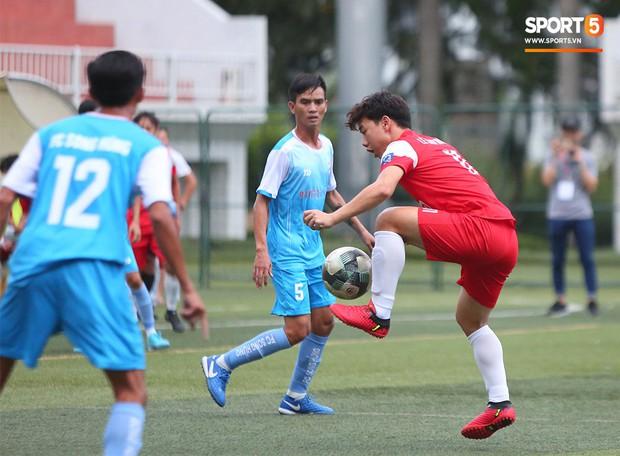 Minh Vương, Ngọc Quang đốn tim fan nữ Sài thành bằng những pha bóng đẳng cấp sân phủi - Ảnh 12.