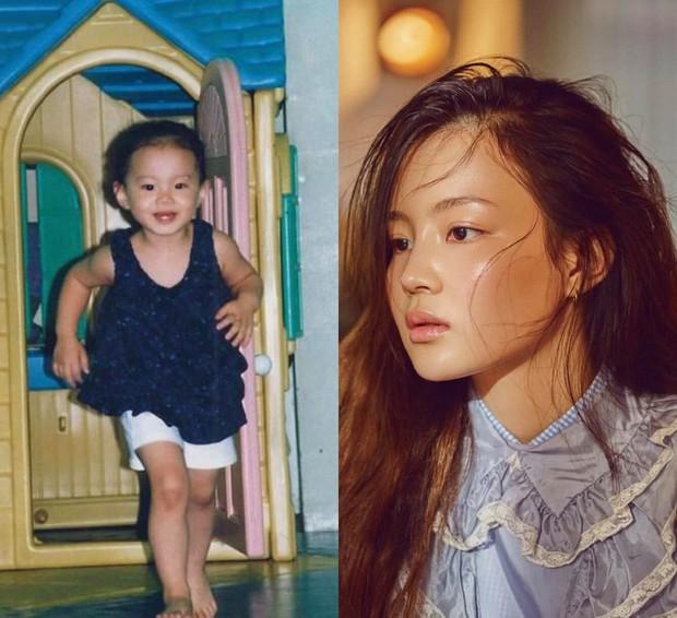 Dàn mỹ nhân Hàn lộ nhan sắc thật qua ảnh thuở bé: Tzuyu và Sulli quá xuất sắc, Seolhyun và gà YG lột xác ngỡ ngàng - Ảnh 19.