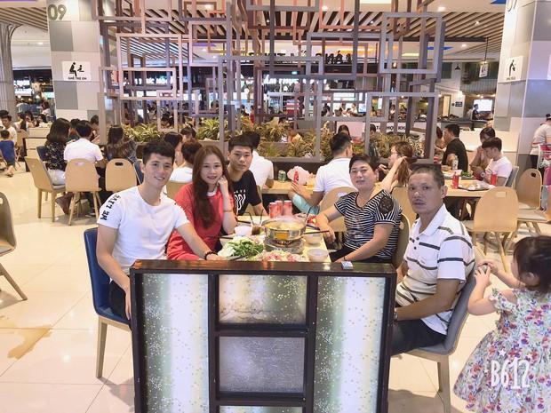 Hạnh phúc như bạn gái Đình Trọng: Được cả gia đình bạn trai ở bên cùng đón sinh nhật - Ảnh 4.