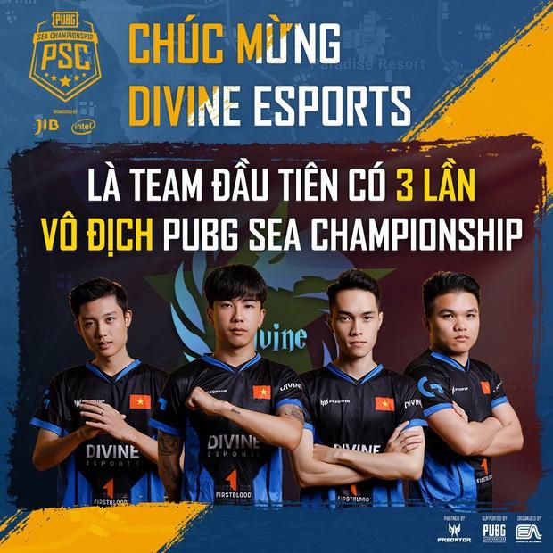 Divine Esports vô địch giải PUBG rinh tiền thưởng hơn 1 tỷ đồng, lần đầu tiên Việt Nam có 2 đội tuyển dự Chung kết thế giới tại Mỹ - Ảnh 2.