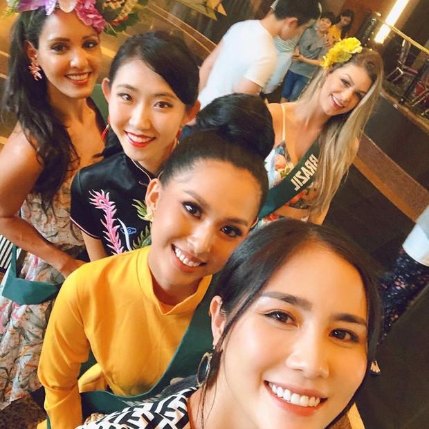Mỹ nhân Việt dự thi Miss Earth đã đến Philippines đụng độ đối thủ, nhan sắc có đủ lập nên kỳ tích như Phương Khánh? - Ảnh 3.