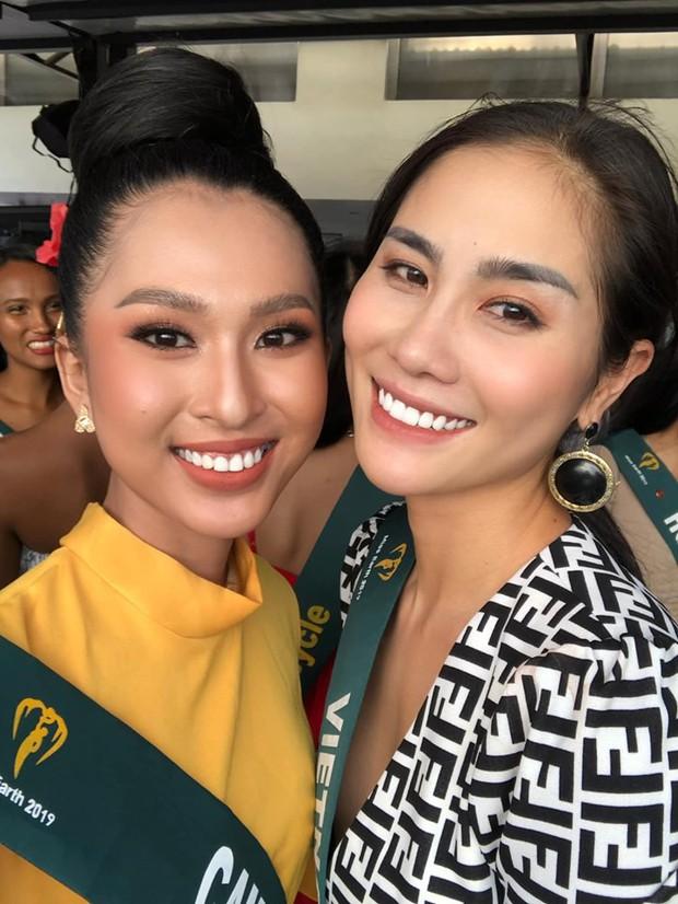 Mỹ nhân Việt dự thi Miss Earth đã đến Philippines đụng độ đối thủ, nhan sắc có đủ lập nên kỳ tích như Phương Khánh? - Ảnh 1.