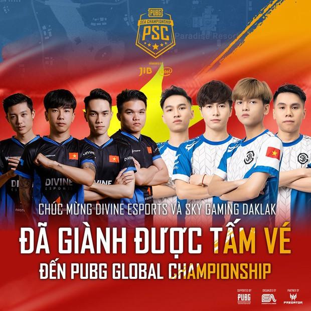 Divine Esports vô địch giải PUBG rinh tiền thưởng hơn 1 tỷ đồng, lần đầu tiên Việt Nam có 2 đội tuyển dự Chung kết thế giới tại Mỹ - Ảnh 4.