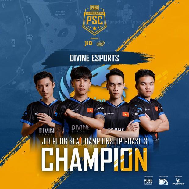 Divine Esports vô địch giải PUBG rinh tiền thưởng hơn 1 tỷ đồng, lần đầu tiên Việt Nam có 2 đội tuyển dự Chung kết thế giới tại Mỹ - Ảnh 1.