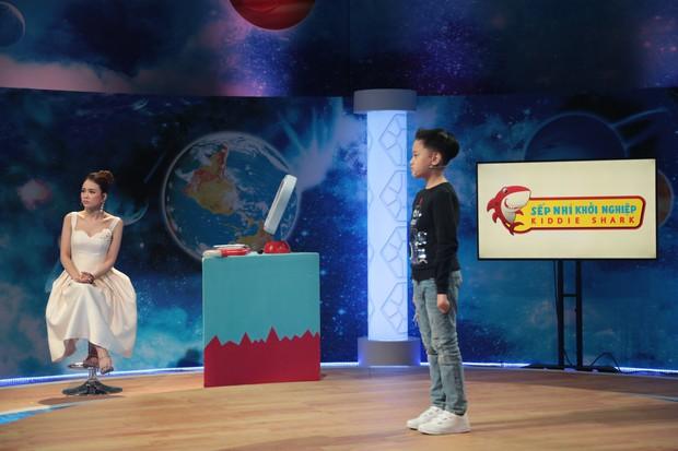 Shark nhí: Con trai MC Hồng Phúc cực lanh khiến Xuân Bắc trở tay không kịp - Ảnh 1.
