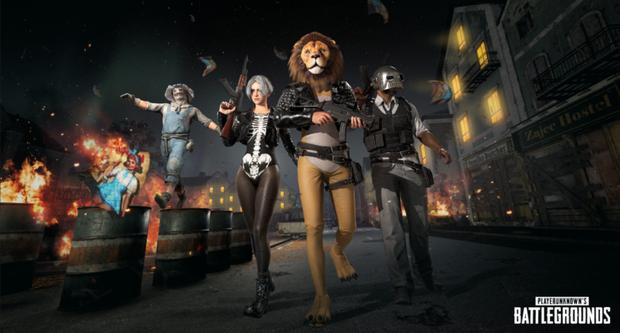 Halloween chưa đến nhưng trang phục cho mùa Halloween của PUBG đã khiến các game thủ hết hồn - Ảnh 1.