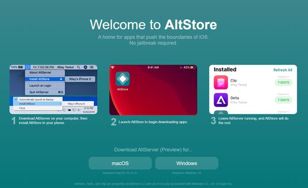 AltStore: Nỗi ác mộng của Apple nhưng lại là cửa hàng ứng dụng trong mơ cho người dùng - Ảnh 1.