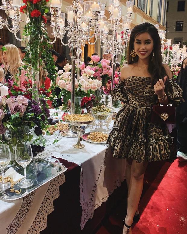 Hội tranh thủ Paris Fashion Week để… đi du lịch: Kỳ Duyên - Tiên Nguyễn ăn uống thả ga, Khánh Linh mang 8 cái vali quần áo để chụp hình - Ảnh 7.