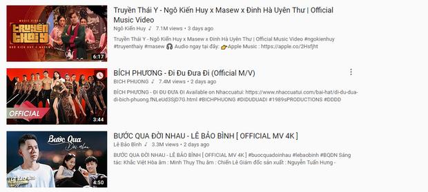 Dù đã là những ngôi sao quen mặt của Vpop, thế nhưng loạt ca sĩ này gần đây mới biết mùi Top 1 Trending - Ảnh 3.
