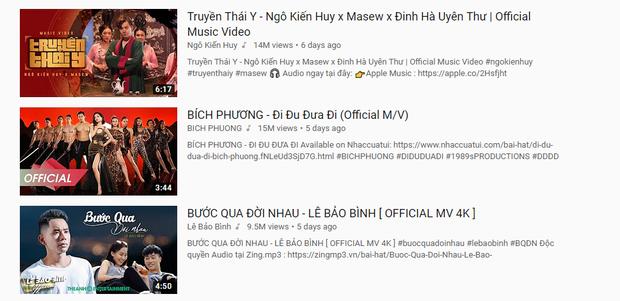 Quả thực cần phải Truyền Thái Y gấp khi MV của Ngô Kiến Huy lần thứ 3 vươn đến Top 1 Trending YouTube Việt Nam! - Ảnh 3.