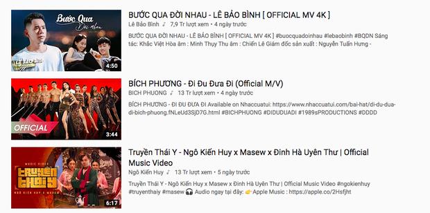 Quả thực cần phải Truyền Thái Y gấp khi MV của Ngô Kiến Huy lần thứ 3 vươn đến Top 1 Trending YouTube Việt Nam! - Ảnh 4.