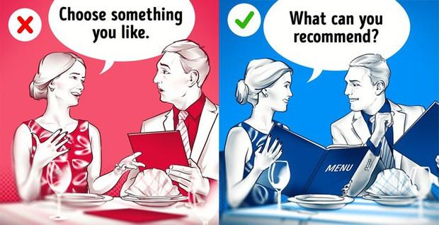 """Những quy tắc ngầm tuy không ai bảo nhưng bạn vẫn nên biết để không bị """"kém sang"""" khi dùng bữa ở các nhà hàng cao cấp - Ảnh 6."""