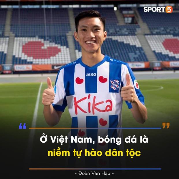 Đoàn Văn Hậu tuyên bố giữa trời Âu: Ở Việt Nam, bóng đá là niềm tự hào dân tộc - Ảnh 2.