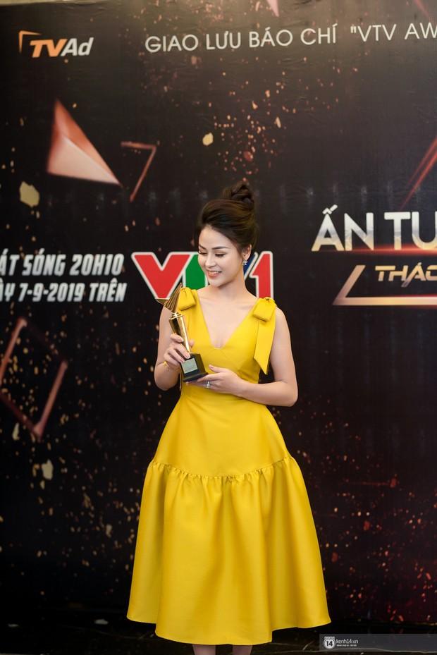 Sự kiện quy tụ dàn sao của vũ trụ VTV: Thu Quỳnh hiếm hoi xuất hiện cùng MC Minh Hà sau 4 năm ồn ào tình tay ba - Ảnh 7.