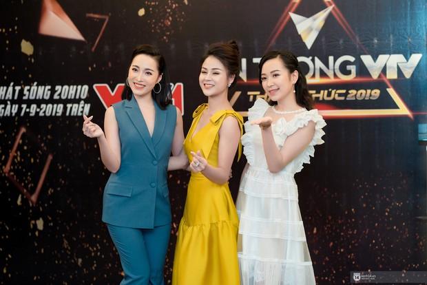 Sự kiện quy tụ dàn sao của vũ trụ VTV: Thu Quỳnh hiếm hoi xuất hiện cùng MC Minh Hà sau 4 năm ồn ào tình tay ba - Ảnh 5.