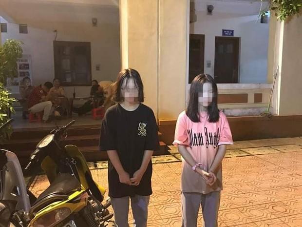 Thái Nguyên: 20 nam nữ học sinh tổ chức đua xe bị công an bắt giữ - Ảnh 1.