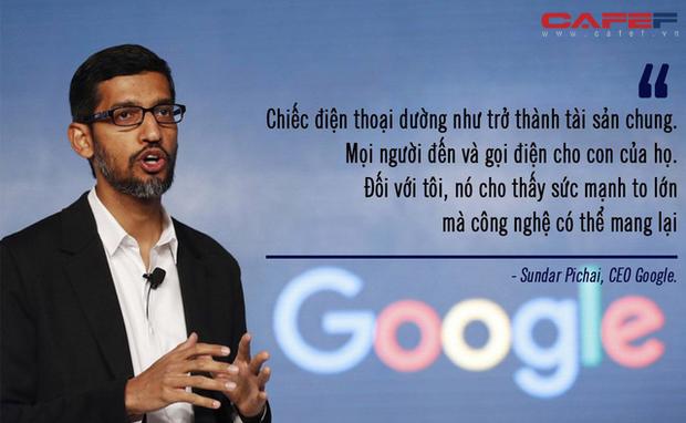 Trước khi lên đại học không có nổi chiếc máy tính xách tay, xa lạ với công nghệ nhưng CEO Google nghĩ chính thế lại hay - Ảnh 1.