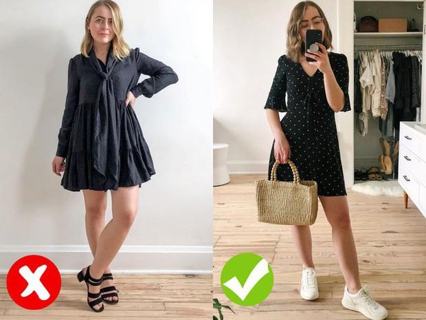 Cô nàng này khuyến cáo 2 kiểu váy mà các nàng thấp bé nặng cân không nên chọn - Ảnh 2.