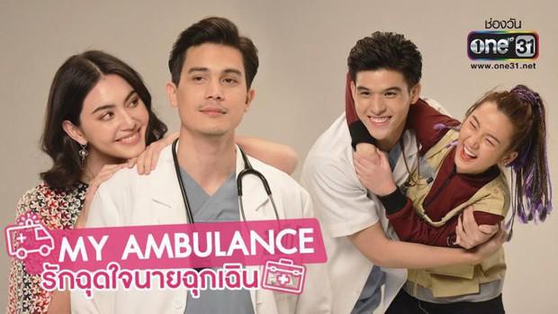 Drama tình tay 4 căng cực Yêu Chàng Cấp Cứu tập 2: Nữ phụ thả thính Peng, còn Tan bận đi đu đưa trai trẻ - Ảnh 1.