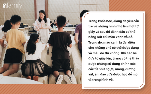 Lớp giáo dục giới tính cho trẻ tiểu học ở Trung Quốc: Trẻ được dạy sinh động về bộ phận sinh dục, quan hệ tình dục và cách ngăn chặn ấu dâm - Ảnh 3.