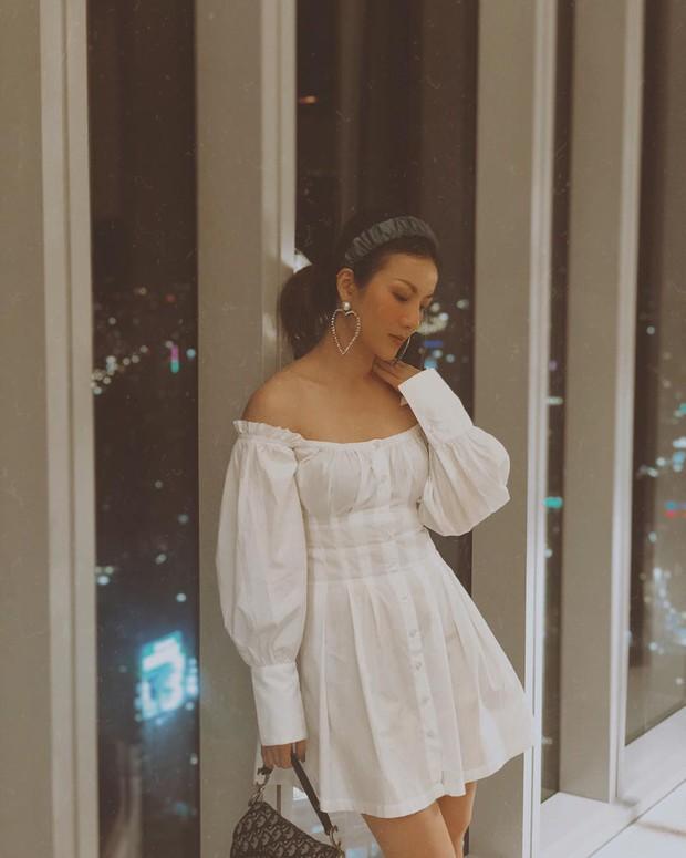 Phạm Quỳnh Anh phô diễn bờ vai cực phẩm, Yến Nhi lại cho thấy tài mix&match siêu đỉnh khi diện chung mẫu váy - Ảnh 4.
