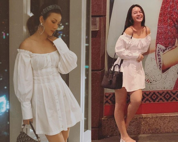Phạm Quỳnh Anh phô diễn bờ vai cực phẩm, Yến Nhi lại cho thấy tài mix&match siêu đỉnh khi diện chung mẫu váy - Ảnh 6.